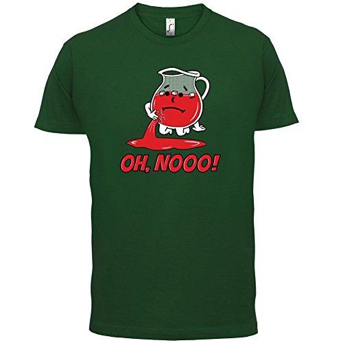 OH, Noo - Coolaid - Herren T-Shirt - 13 Farben Flaschengrün
