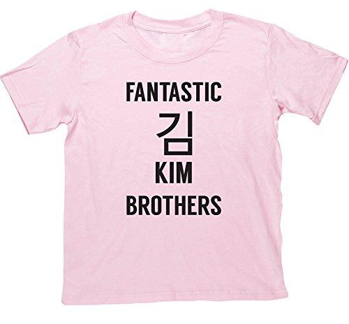 hippowarehouse-fantastic-kim-brothers-kids-short-sleeve-t-shirt
