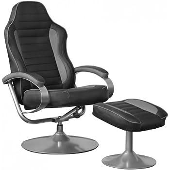 Amstyle Sporting TV Fernseh-/Relax-Sessel drehbar mit