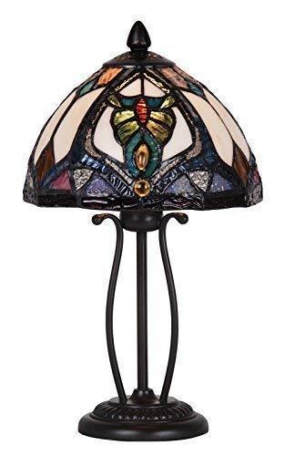 Tiffany Stil Einzigartig Glasmalerei Tisch Lampe - G083950 -