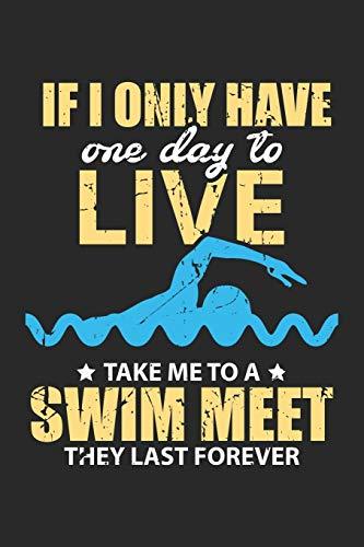 Swim Meet: Lustiger Schwimmer Zitat Ozean Wassersport Pool  Notizbuch liniert DIN A5 - 120 Seiten für Notizen, Zeichnungen, Formeln | Organizer Schreibheft Planer Tagebuch