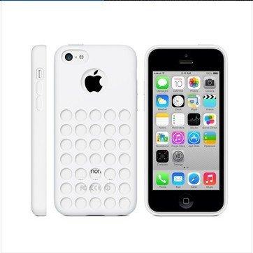 Monkey Cases® iPhone 5C-Silicone Case-Blanc-Étui-Original-Neuf/emballage d'origine-White