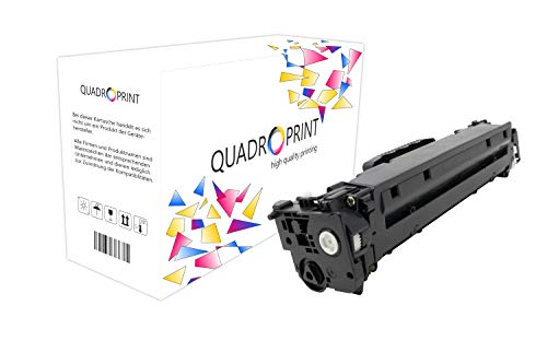 QUADROPRINT Toner ersetzt HP CC532A 304A Gelb, ca. 2.800 Seiten, für HP Color Laserjet cm 2300 2320 2323 2720, Color Laserjet CP 2000 2020 2024 2025 2026 2027 CB CI DN EB EBB Ei FXI MFP N NF Series Fxi Serie