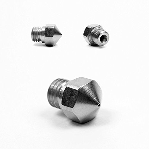 Micro Swiss 0.5mm Nozzle for Micro Swiss MK10 All Metal Hotend Upgrade Kit (Carbon Hats Hard Fiber)