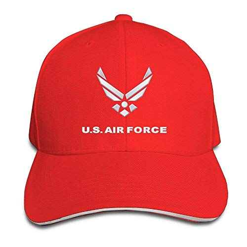 Hipiyoled Adult Dyed Cotton Adjustable Peaked Baseball Cap U.S. Air Force Symbol Dad Trucker Hat 5Z565 Symbol Trucker Hut