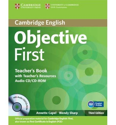 Objective First Teacher's Book with Teacher's Resources Audio CD/CD-ROM (Objective) (Mixed media product) - Common