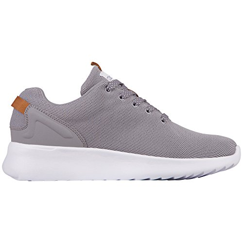 Kappa Result, Sneaker Unisex – Adulto Grigio (1610 grigio/bianco)