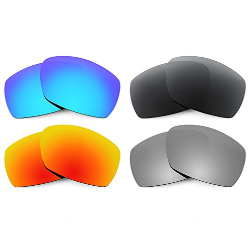 Revant Ersatzlinsen für Smith Dockside Polarisiert 4 Paar Kombipack K018