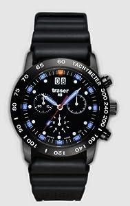 Traser H3 Classic Chrono Big Date Blue con Diver-pulsera [Reloj] de Traser