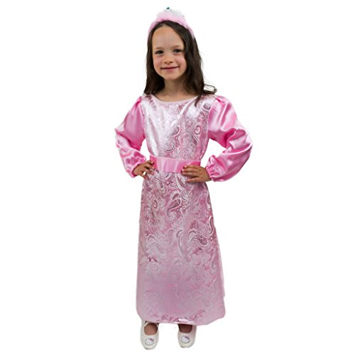 Krause & Sohn Kostüm Aschenputtel Kleid rosa Gr. 104- 158 Märchen Kostüm Ballkleid Moritzburg Aschenbrödel - Aschenbrödel Kostüm Für Erwachsene