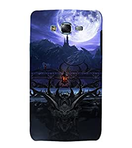 printtech Cool Game Moon Design Back Case Cover for Samsung Galaxy J7 (2016 ) /Versions: J710F, J710FN (EMEA); J710M (LATAM); J710H (South Africa, Pakistan, Vietnam) Also known as Samsung Galaxy J7 (2016) Duos with dual-SIM card slots Asia/China model with 1080p display and 3 GB RAM