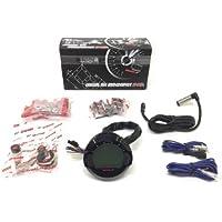 Universal Digital Tacho Tachometer 12V mit ABE für ATV Roller Motorrad bis 360km/h