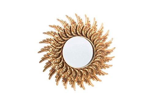 Espejo-pared-resina-alas-dorado