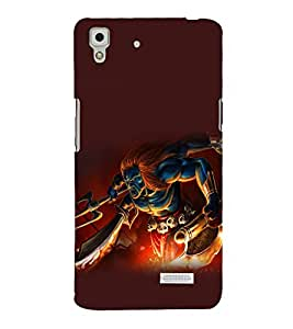 printtech Hindu Demon Angry Back Case Cover for Oppo R7