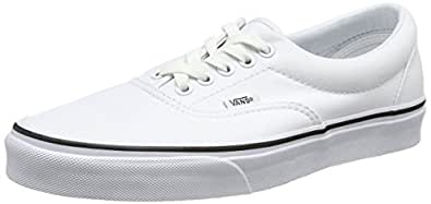 Vans Era Unisex-Erwachsene Sneakers, Weiß, 45 EU