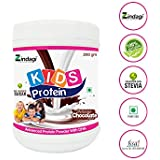 Zindagi Kids Protein Powder - Natural Protein Powder With DHA For Children (Chocolate Flavor)