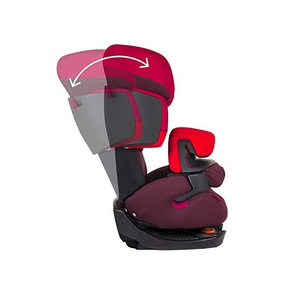 CYBEX Silver Pallas 2-in-1 Child's Car Seat, Group 1/2/3 (9-36 kg), From approx. 9 Months to approx. 12 Years, Cobblestone Cybex Sturdy and high-quality child car seat for long-term use - For children aged approx. 9 months to approx. 12 years (9-36 kg) Maximum safety - Depth-adjustable impact shield, 3-way adjustable reclining headrest, Built-in side impact protection (L.S.P. System) 11-way height-adjustable comfort headrest, One-hand adjustable reclining position, Easy conversion to Solution X-Fix for children from 3 years (group 2/3) by removing impact shield and base, Adjustable backrest 5