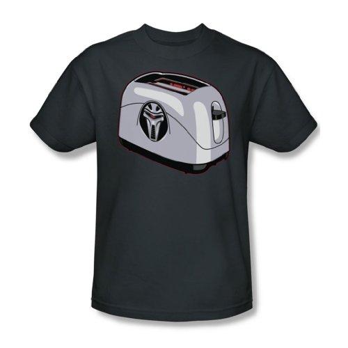 Wicked Tees Herren BSG Kurzarm TOASTER Large T-Shirt Tee Größe L