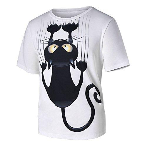 Le t-shirt avec imprimé chat
