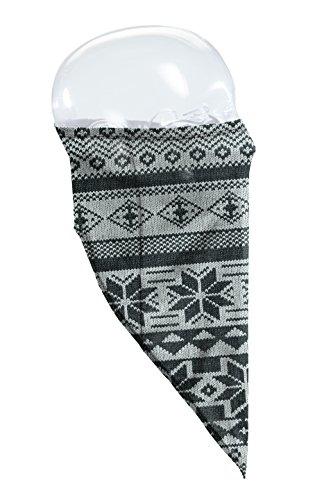 Seirus Innovation Schnitt Fleece gefüttert Knit Tube snowdana Bandana mit UPF 50+ Schutz, unisex, Chalet-Black (Fleece-scarve Seirus)
