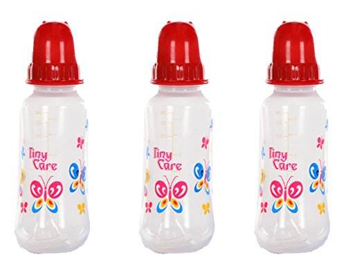 Tiny Care Baby Feeding Bottle(Pack Of 3,200 Ml)