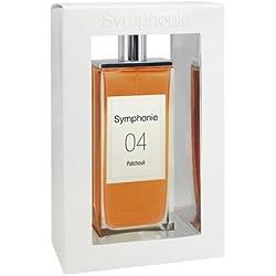 SYMPHONIE 04 Patchouli • Eau de Parfum 100ml • Vaporisateur • Parfum Femme • EVAFLORPARIS