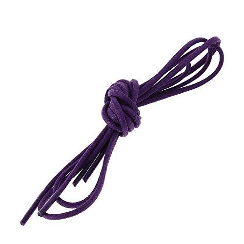 Les lacets Français - Lacets Ronds Coton Ciré Couleur Digitale