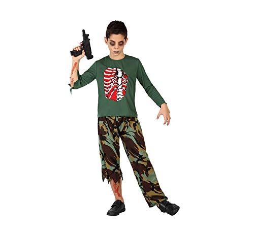 Atosa 28567 Disfraz militar sangriento 3-4 años, talla niño