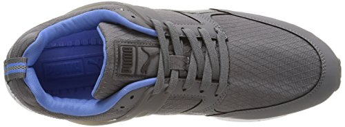 Puma Aril Modern Tech, Sneakers Basses mixte adulte Gris (Steel Gray/Marine)