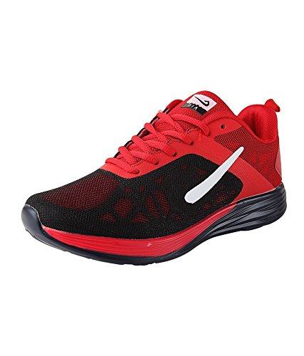 Vir Sport Air Red Men'S Running Shoes (Size: 8)