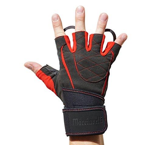 Zoom IMG-1 macciavelli guanti palestra con ammortizzazione