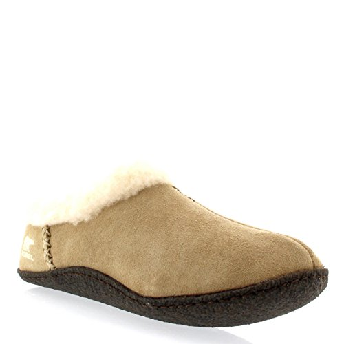 Sorel Nakiska NL1474 Damen Pantoffeln Braun (British Tan 265)