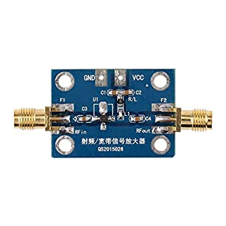 0.1-2000MHz HF Breitbandverstärker Schinken Radio Modul 30dB Verstärkermodul Brett mit hohem Gewinn und niedrigem Rauschen