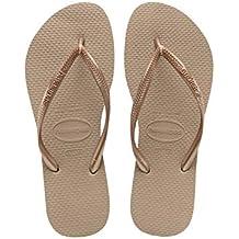 ba2434189429 Havaianas Slim Rose Gold Kautschuk Erwachsenen Flip Flops Sandalen