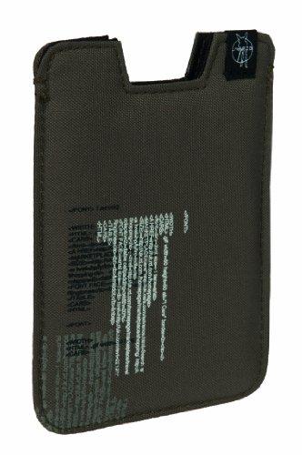 Lässig Smartphonehülle, Twig Slate Text Olive