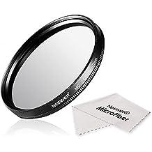 Neewer® 67MM CPL Circular Polarizador Filtro Multi-Coated con Limpiador de Micro Fibra para la Lente de la Cámara con un Filtro de 67mm de Rosca