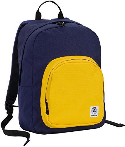 36dd2d4e7c ZAINO INVICTA – OLLIE PACK – Giallo Blue – tasca porta pc padded – scuola e  tempo libero americano 25 LT