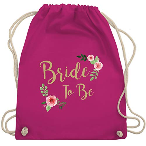 bschied - Bride To Be - Unisize - Fuchsia - WM110 - Turnbeutel & Gym Bag ()