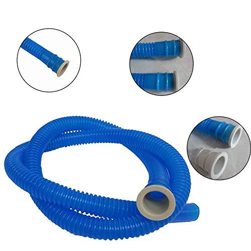 Hochwertiger Eva- & PE-Universal-Klimaanlagen-Abflussschlauch, langlebiger Waschmaschinen-Einlassrohr-AC-Schlauch-Abflussrohr-Aufflackern, Durchmesser 16 MM - 4,92 ft - Geschirrspüler Klimaanlage