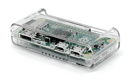 SB Haute Qualité Raspberry Pi Case Zero - Effacer / Transparent ** Accès à tous les ports ** montés en 30 secondes et fermé OUVERT (Clear)