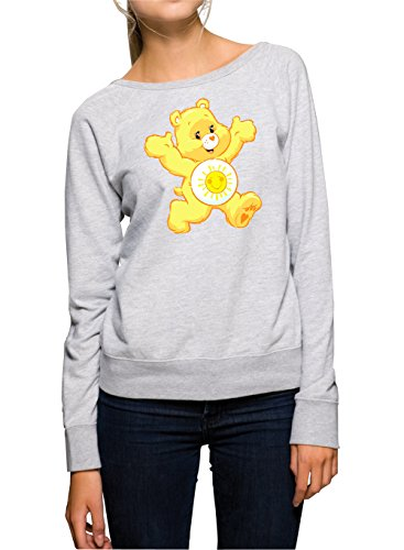 Sunny Bear Sweater Girls Grey Certified Freak-L