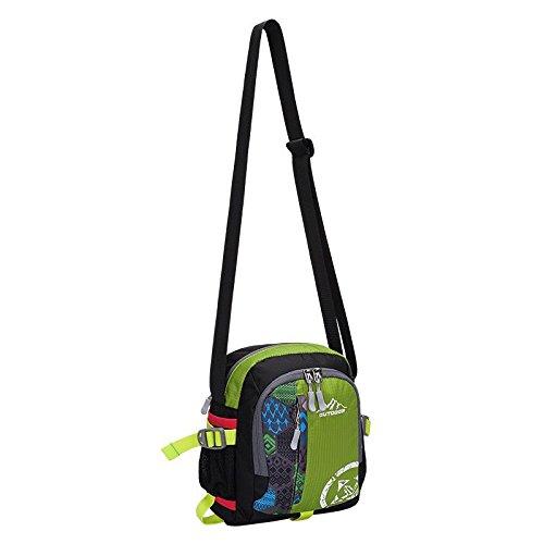 YYY-Tasche all'aperto sport all'aperto multi - funzionale borsa a tracolla uomini e donne viaggiano zaino spalla bag? , blue , 12 Green