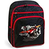 mochila escolar HOT WHEELS