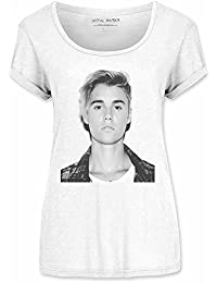 Justin Bieber Love Yourself Official White Womens T-shirt
