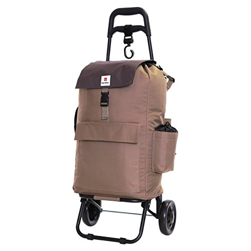 Karabar Halden Insulated Shopping Trolley, Grey