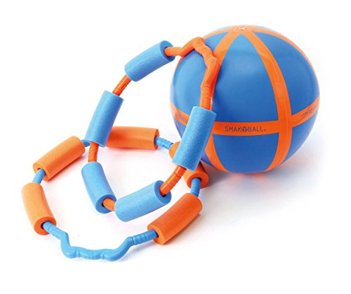 Schildkröt Funsport SMAK-A-BALL Set, 2 Fänger (orange+ blau) +1 Ball im Karton, 970235 (2-ball-kopf)