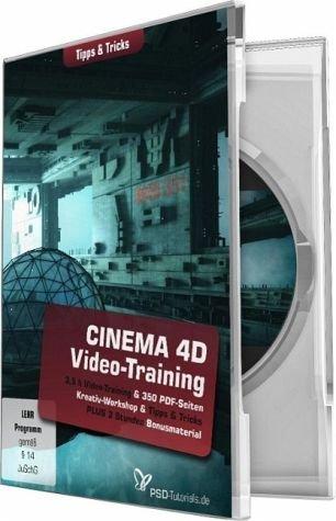 CINEMA 4D-Video-Training - Tipps & Tricks (PC+Mac)
