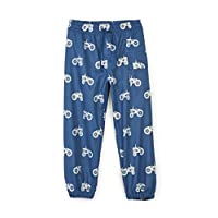 Hatley Kids Colour Changing Splash Pants - Farm Tractors