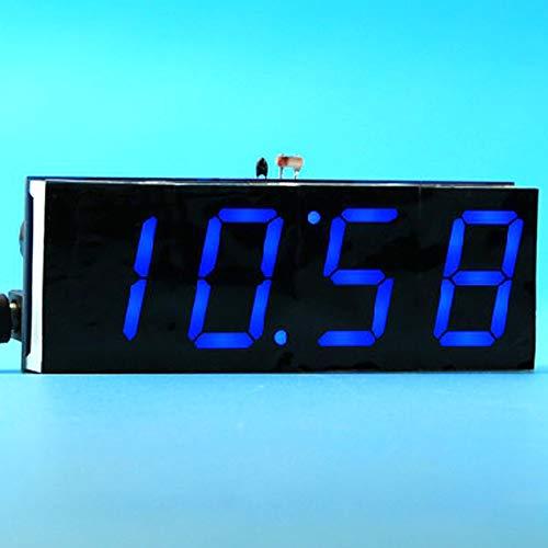 Festnight 51 Single-Chip-Microcomputer-Lichtsteuerung LED-Digitalanzeige Elektronische Uhr, die Kit DIY Manufacturing Zubehörteile -