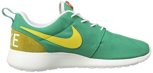 Nike Roshe One Retro, Sneaker Basse Uomo Grün (Lucid Grün/Weiß/Sulfur Gelb)